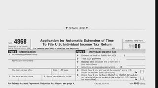 Form 4868