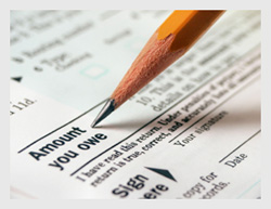 Owing income tax