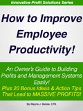 Improve employee productivity bookcover.001