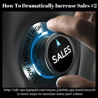 How To Dramatically Increase Sales #2